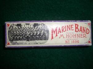 """Bien Marine Band M. Hohner Nº 1896 """"c""""-afficher Le Titre D'origine"""