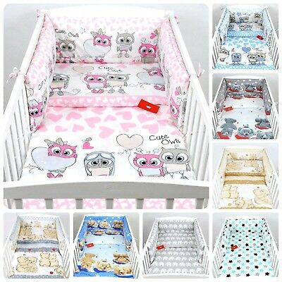BABY BEDDING PILLOW-QUILT COVER fit Cot 100/% cotton 2 PIECES NURSERY