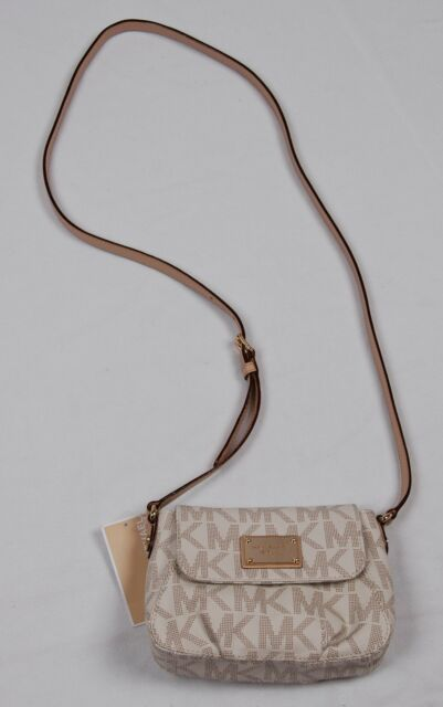 1fef4b80a44c Michael Kors Jet Set Item Small Flap Crossbody 35T2GJSC1B Vanilla ...