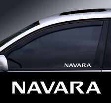 2 x Nissan Navara Window Decal Sticker Graphic *Colour Choice*