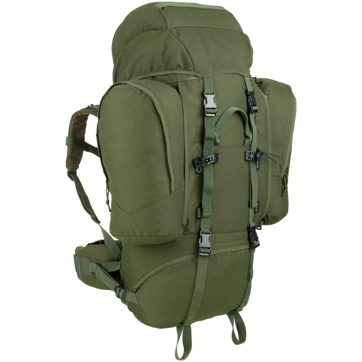 MFH Outdoor Zaino Alpin 110 Outdoor MFH Trekking Hiking Campeggio Pesca Pattuglia OD Verde 1b58fb