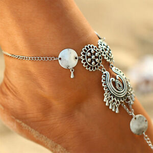 pulsera-tobillera-de-aleacion-accesorios-Boho-Festival-tribal-etnico-mujeres