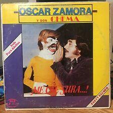 """Tejano Tex Mex"" ""Oscar Zamora y Don Chema"" ""Me Cae Sura"" ""Rare LP"""