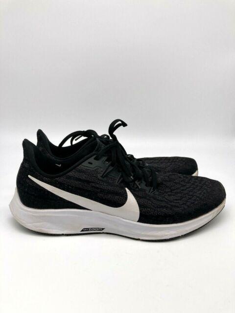 Nike Air Zoom Pegasus 36 Mens Running Shoes Sneakers Black Size 9.5
