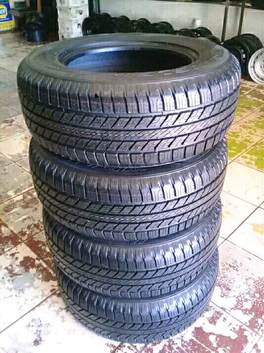 GOOD YEAR WRANGLER Tyres 265/65R17 A Set of Four On Sale