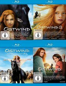 4-Blu-rays-OSTWIND-1-2-3-4-Aufbruch-nach-Ora-Aris-Ankunft-NEU-OVP