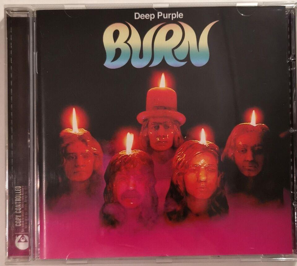 DEEP PURPLE: Burn, rock