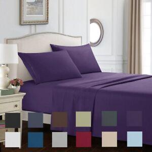 Queen-size-sheets-Deep-Pocket-thread-count-Soft-Bed-sheets-Bedding-Sheet-Set