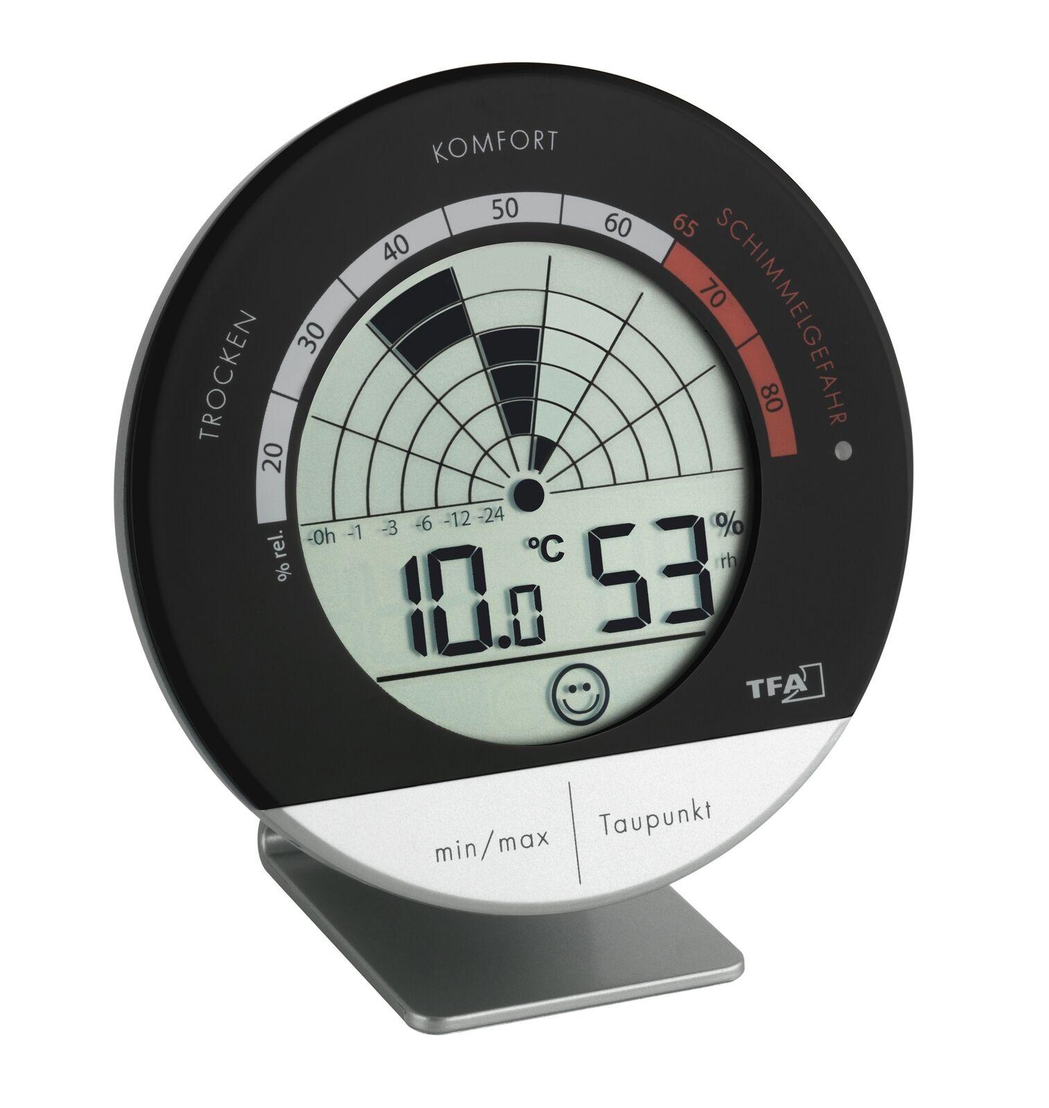 Tfa Dostmann Digital Thermo   Higrómetro Radar