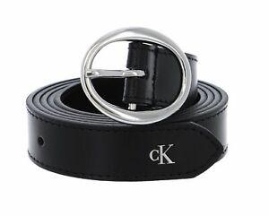Calvin Klein Rounded Classic Belt W85 Accessoire Black Neu