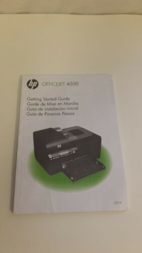HP OfficeJet 4500 Manual Getting Started Guide G510 125 Pages CB867-90002