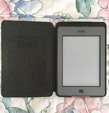 Amazon Kindle Touch D01200/B00F 4GB, Wi-Fi, 3G, 6in Plays Aud Case & Light Inc