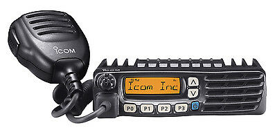 ICOM F6021 UHF Land Mobile Commercial Two Way Radio 45 Watts NEW 450-512 MHz