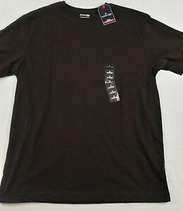 7b7f8294e9b1 men's St John's Bay size small t-shirt dark brown short sleeve ...