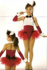 Let Me Entertain You Dance Costume Skirted Leotard Tap Clearance Child X-Small