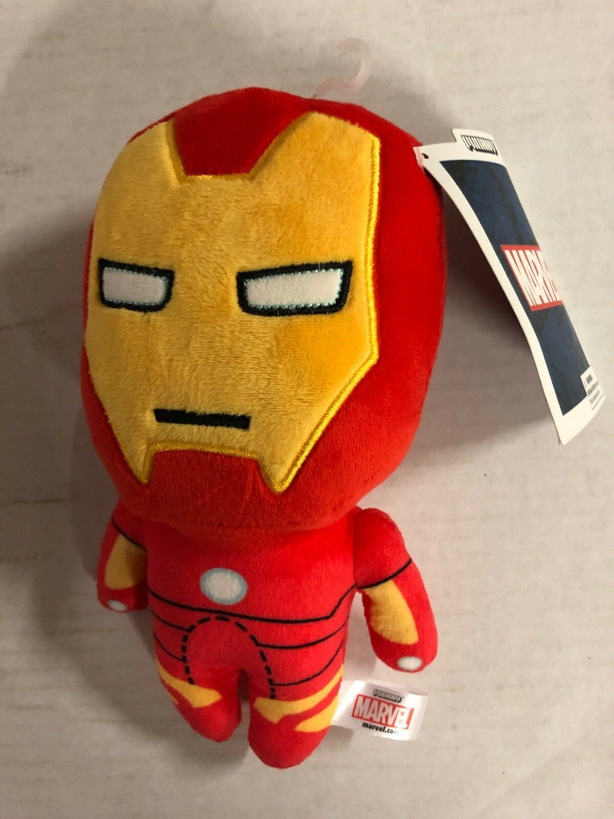 """Marvels' Avengers Iron Man 6"""" Plush By Phunny.  Impress Your Friends"""