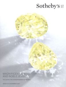Sotheby's Catalogue Magnificent Jewels and Noble Jewels 15 November 2017 HB