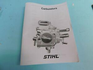 FOR-STIHL-CHAINSAW-CARBURETOR-SERVICE-REPAIR-MANUAL-MAN59
