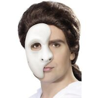 Mens Womens Phantom Mask Fancy Dress of the Opera Costume Masquerade Halloween
