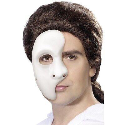 10 x Men's Womens Phantom Mask Fancy Dress of the Opera Costume Masquerade Ball