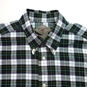 Bills-Khakis-Men-039-s-Button-Shirt-Size-L-Long-Sleeve-Classic-Fit-Plaid-Cotton