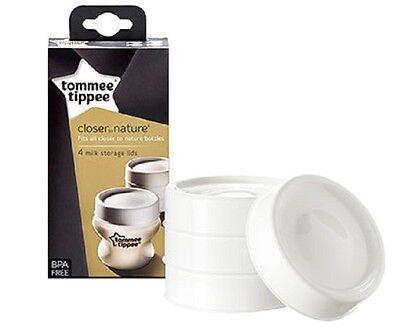 Imparato Tommee Tippee 43136171 Più Vicino Alla Natura Del Latte Bagagli 4 Coperchi Elegante E Grazioso
