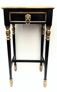 Empire-Style-Antique-furniture-vintage-nightstand-side-table-chic-Country-French