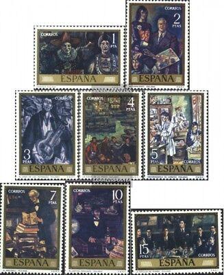 Modestil Spanien 1972-1979 Postfrisch 1972 Gemälde HeißEr Verkauf 50-70% Rabatt kompl.ausg.