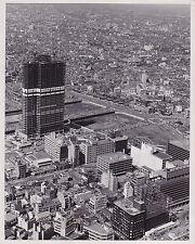 TOKYO JAPAN Building Skyscraper Construction VINTAGE 1970 press photo VERY RARE