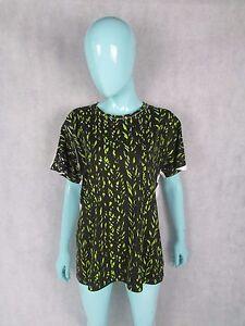 Balenciaga-Talla-L-12-Reino-Unido-Estampado-Frontal-T-shirt-top-autentico
