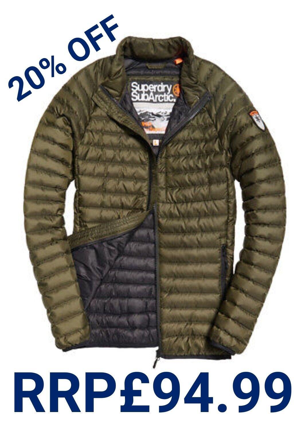 vendita 20% OFF   Nuovo Prezzo Consigliato Superdry .99 3XL Taglia linea uomo Superdry Consigliato Core giacca invernale giù Cappotto 66bd20