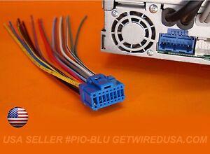pioneer wire harness plug avh p5000dvd avh p4900dvd avh p5700dvd avh rh ebay com  pioneer avh p5700dvd wiring diagram