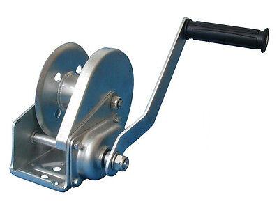 Seilwinde Winde mit Bremse Handwinde Lasten bis 600kg ohne Seil verzinkt NEU !