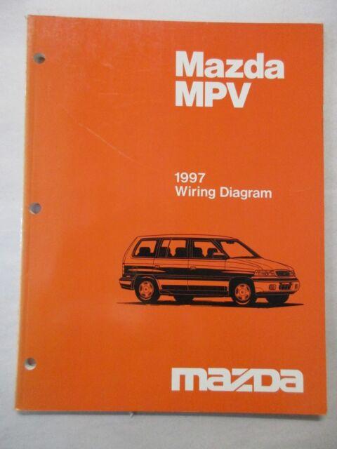 1997 Mazda Mpv Wiring Diagram Service Manual