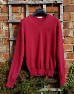 Chianti Sweater Collection Maglia Versace V s neck Red Gianni Scollo 0vqxZ