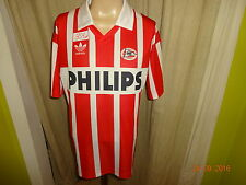 "PSV Eindhoven Original Adidas Trikot 1990-1994 ""PHILIPS"" + Nr.10 Gr.L TOP"