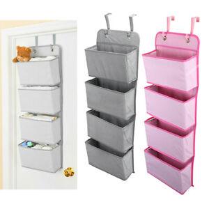 Mesh-Over-Door-Storage-Organizer-Hanging-Closet-Shelf-Bag-Shelves-Toys-Children