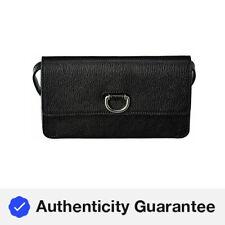 Burberry D-Ring Leather Shoulder Bag Women's