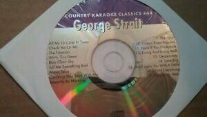 Ckc 44 George Strait Cdg Neuf En Papier Manche-afficher Le Titre D'origine Produits Vente Chaude