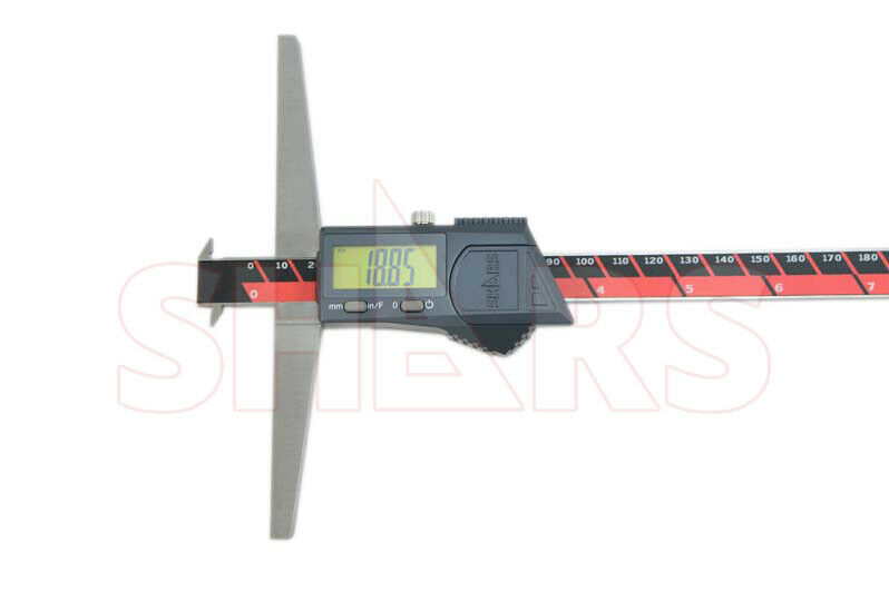 """300mm Double Hook Electronic Digital Depth Gage NEW Aventor IP67 12/"""""""