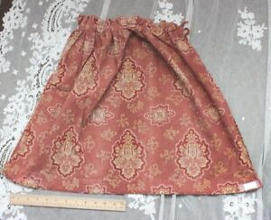 Antique-French-Hand-Blocked-amp-Resist-Dyed-Red-Cotton-Fabric-c1820-1840-22-034-LX27-034-W