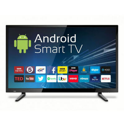 "UNICRON 32"" ANDROID SMART FULL HD LED TV (SAMSUNG PANEL)ONSITE WRNTY REFURBISHED"