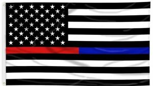 Thin-Blue-Line-and-Thin-Red-Line-Dual-American-Flag-3-x-5-ft-with-Grommets