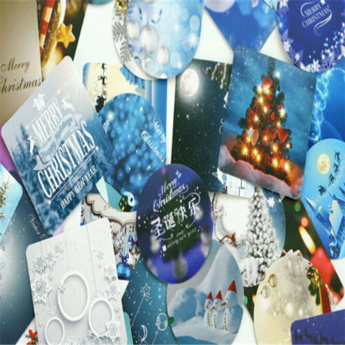 3D Paper Christmas for Scrapbooking Sticker Album School LG