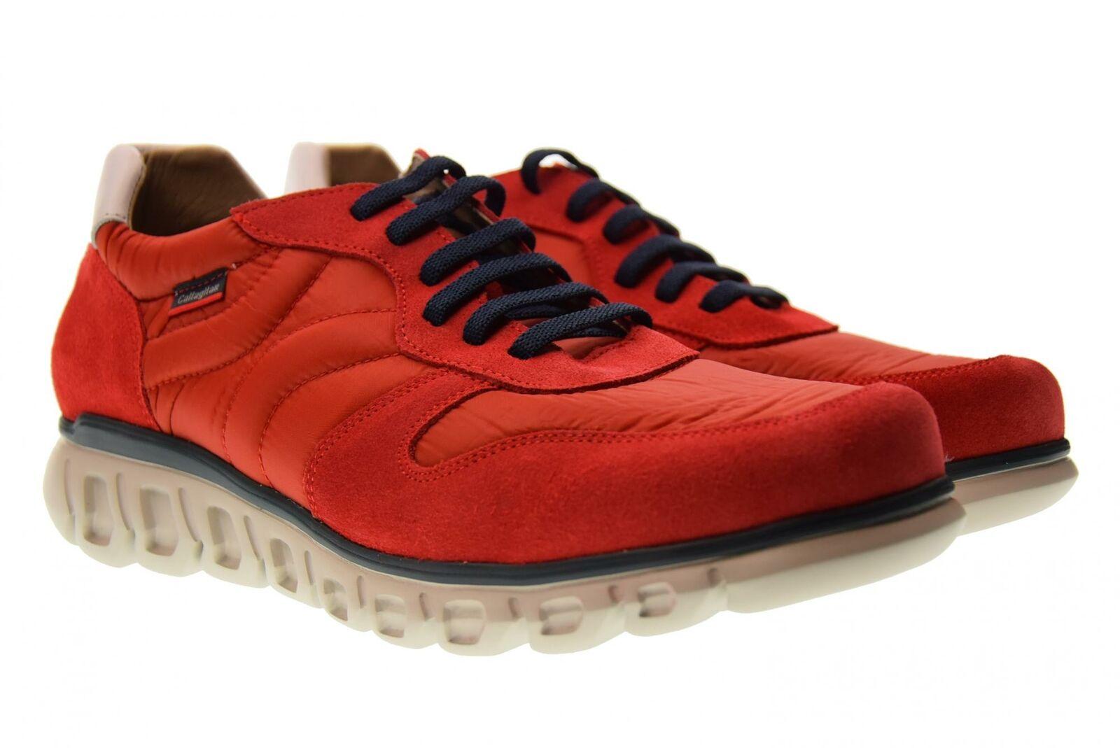 Callaghan P19s shoes de hombre zapatillas bajas 12903 red