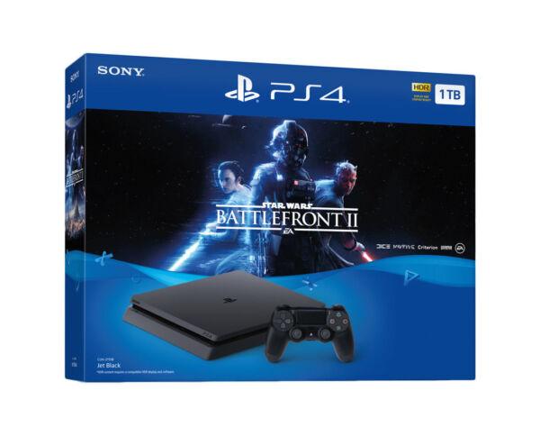Sony PlayStation 4 Slim STAR WARS: Battlefront II Bundle, 1TB, Black Console for sale online   eBay
