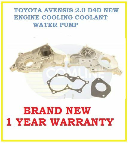 TOYOTA AVENSIS 2.0 D4D 2003-2006 ENGINE COOLING  WATER PUMP 16100-29185