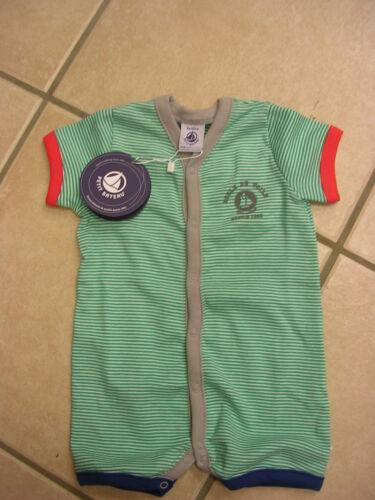 rojo o verde de Petit Bateau. Verano-mamelucos//overall//pijama nuevo!