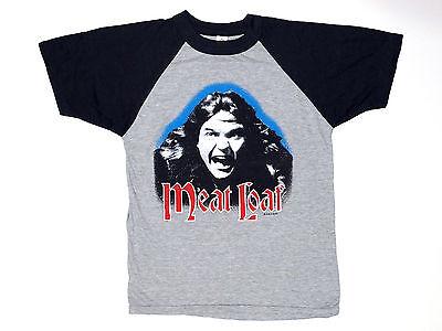 Vintage Original Meat Loaf BAD ATTITUDE Tour Concert Shirt 1984-1985 L