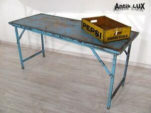 Cooler antiker klapptisch industriedesign schreibtisch for Schreibtisch industriedesign